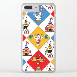 Baby Circus Clear iPhone Case