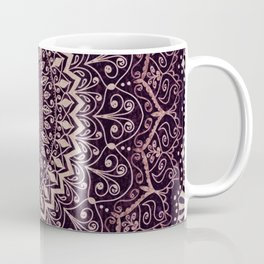 MARSALA MANDALA Coffee Mug