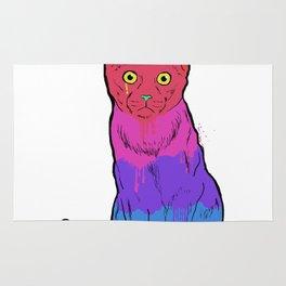 Graffiti Cat Rug