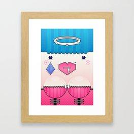 Candy the Valentine's Spirit Framed Art Print