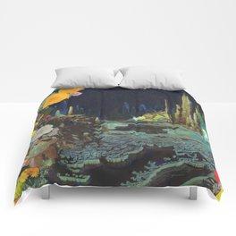 Cave Garden II Comforters