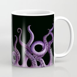 Purple Kraken at Night Coffee Mug