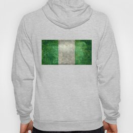 National flag of Nigeria, Vintage textured version Hoody