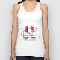 friendship Tank Tops featuring Friendship by Ginta Spate