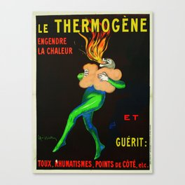 Thermogène Warms You Up Canvas Print