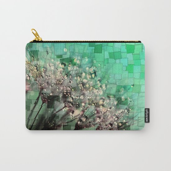 Fresh Dandelions Mosaic Carry-All Pouch