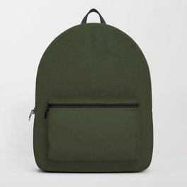 Cedar Creek ~ Moss Green Backpack