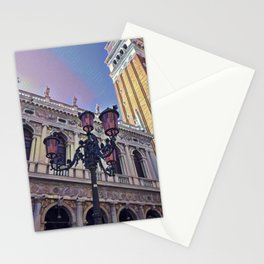 Campanile on the Piazza San Marco Stationery Cards