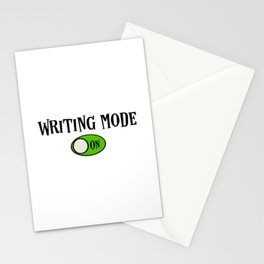 Writing Mode - On Stationery Cards