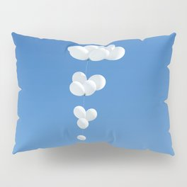 Saudade (White balloons) Pillow Sham