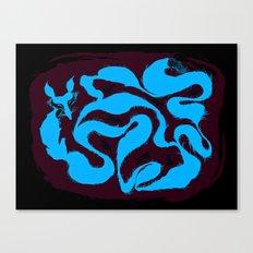 fox tail maze Canvas Print