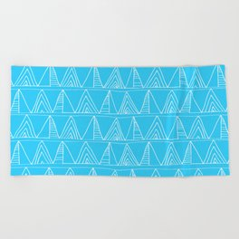 Triangles- Simple Triangle Pattern for hot summer days - Mix & Match Beach Towel