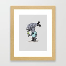 Happiest Space On Earth Framed Art Print