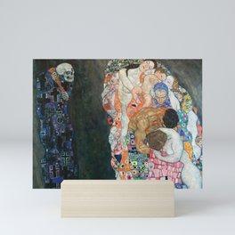 Death and Life by Gustav Klimt Mini Art Print