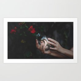 An Endless Romance with the Unknown Art Print