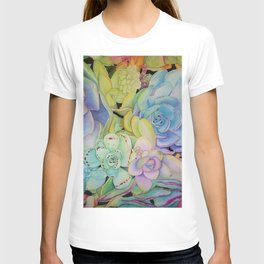 Succulents T-shirt