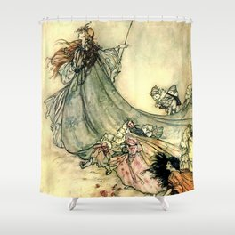 The Fairy Queen Shower Curtain