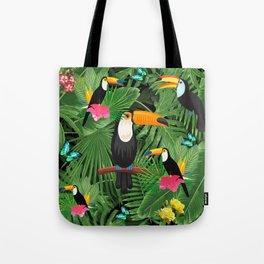 Toucan tropic Tote Bag