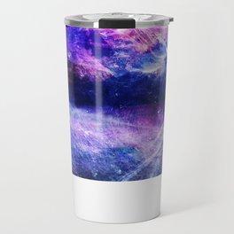 Abstract Mountain Landscape Travel Mug