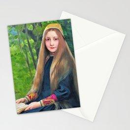12,000pixel-500dpi - Jules Joseph Lefebvre - Griselidis - Digital Remastered Edition Stationery Cards