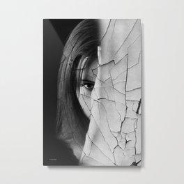 CRACK Metal Print