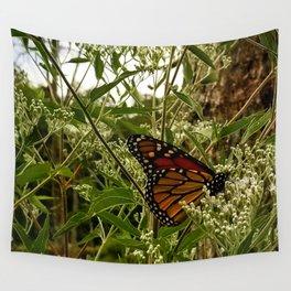 Feeding butterfly Wall Tapestry