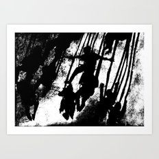 Adrenaline Art Print
