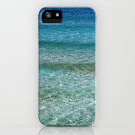 Blue Tropical Waters iPhone Case