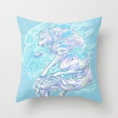 Frost Bite Throw Pillow