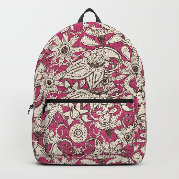 sarilmak pink brown Backpack