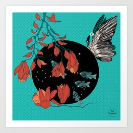 Bulle celeste Art Print
