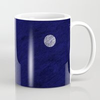 sun and moon Mugs featuring Sun and moon by Inmyfantasia