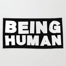 Being Human Beach Towel