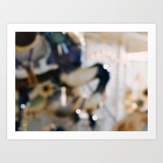The Carousel 1 Art Print