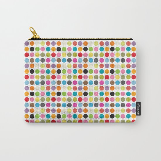 color pattern 6 Carry-All Pouch