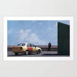 Kim Wexler Confronts Saul Goodman In Better Call Saul Art Print