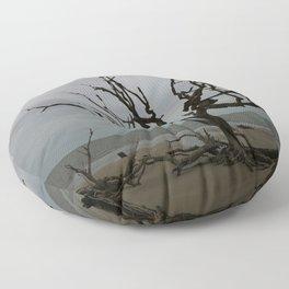 Ghost Tree Beach Floor Pillow
