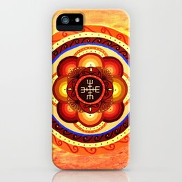 Red Sea Mandal iPhone Case