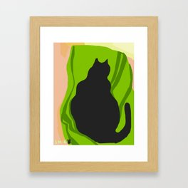 Kitty Green Framed Art Print