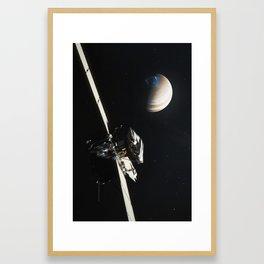 Juno - Jupiter Approach Framed Art Print