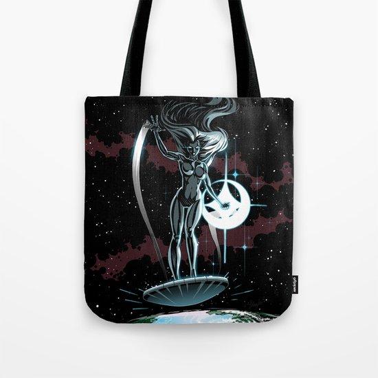 Lady Surfer Tote Bag