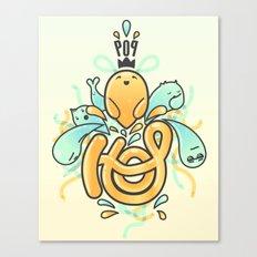 Hop Pop ! Canvas Print