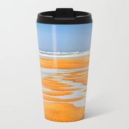 Colorful Beach Travel Mug