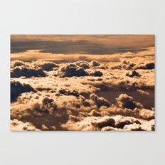 What lies below Canvas Print