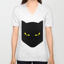 Halloween Black Cat 2017 Gift Unisex V-Neck
