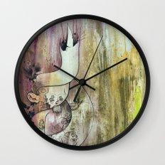 Purple Heart In Times of Peace Wall Clock