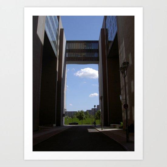 "untitled (Berlin) ""A SAFE PLACE"" series Art Print"