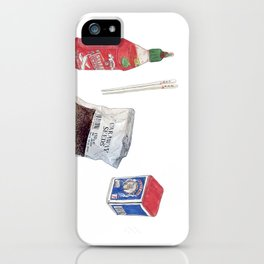 food stuffs iPhone Case