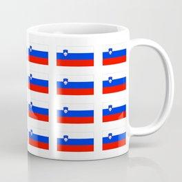flag of slovenia - slovenia, slovenian,Slovene, Slovenija,Ljubljana,yugoslavia. Coffee Mug