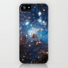 Large and Small Stars in Harmonious Coexistence iPhone Case